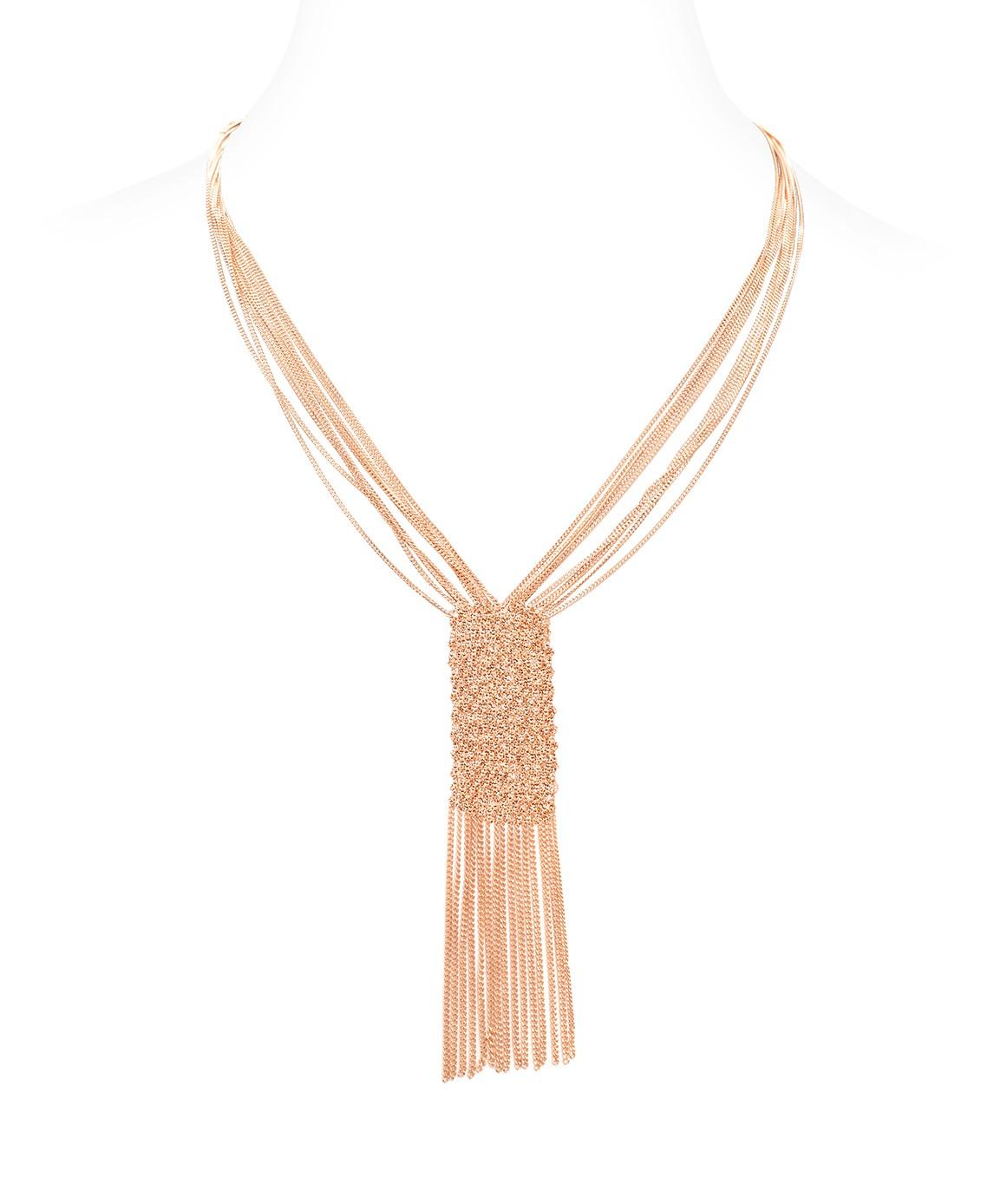 Collana CUVEE in Argento 925 bagno oro Rosa 14Kt.
