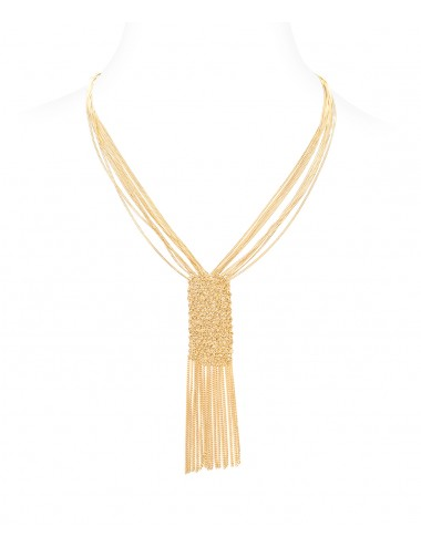CUVEE Necklaces in Sterling Silver 18Kt. Yellow gold plated