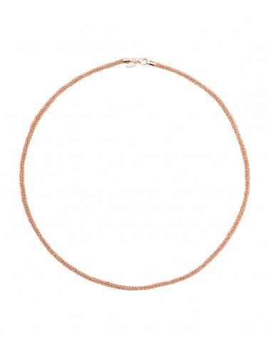 Collana BLANC in Argento 925 bagno oro Rosa 14Kt.