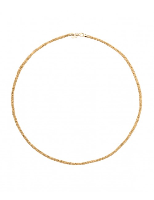 BLANC Necklaces in Sterling Silver 18Kt. Yellow gold plated