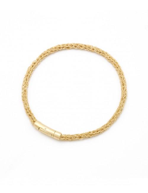 Bracciale MILLESIMATO DOC in Argento 925 bagno oro Giallo 18Kt.