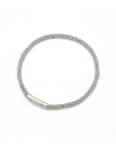 MILLESIMATO DOC Bracelet in Sterling Silver Rhodium plated