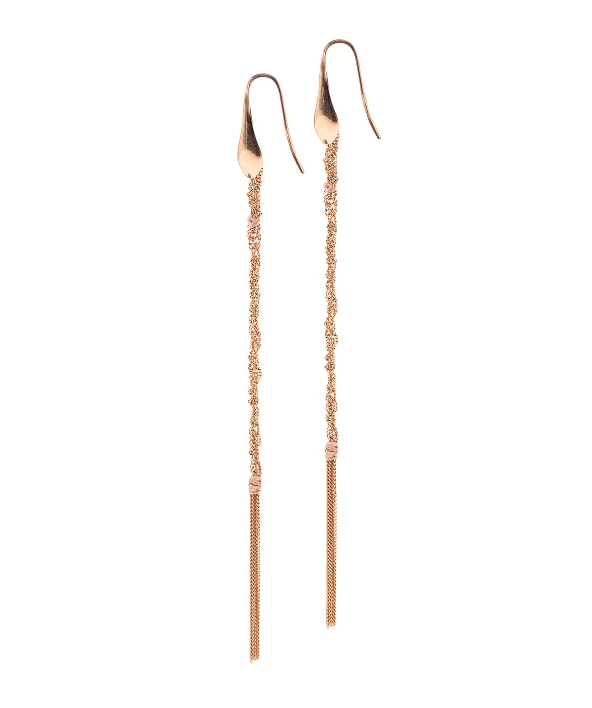 PERLAGE Earrings in Sterling Silver 14Kt. Rose gold plated