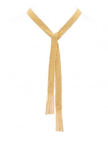 Sciarpa CHAMPAGNE in Argento 925 bagno oro Giallo 18Kt.