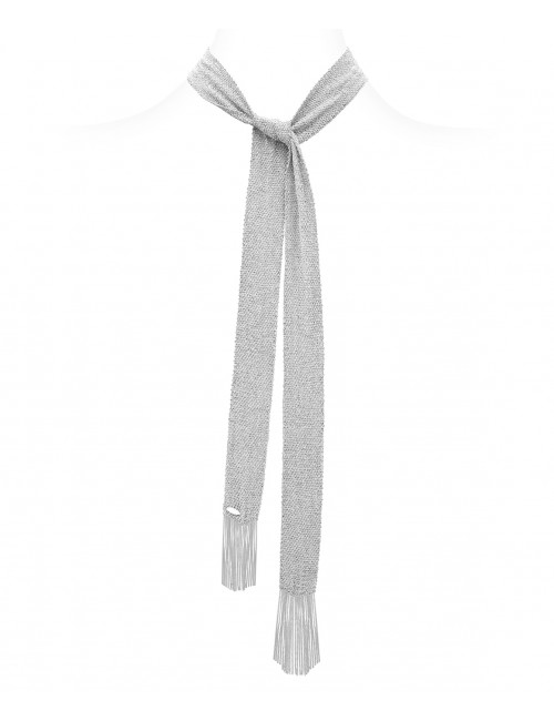 GRAND CRU Scarf in Sterling Silver Rhodium plated