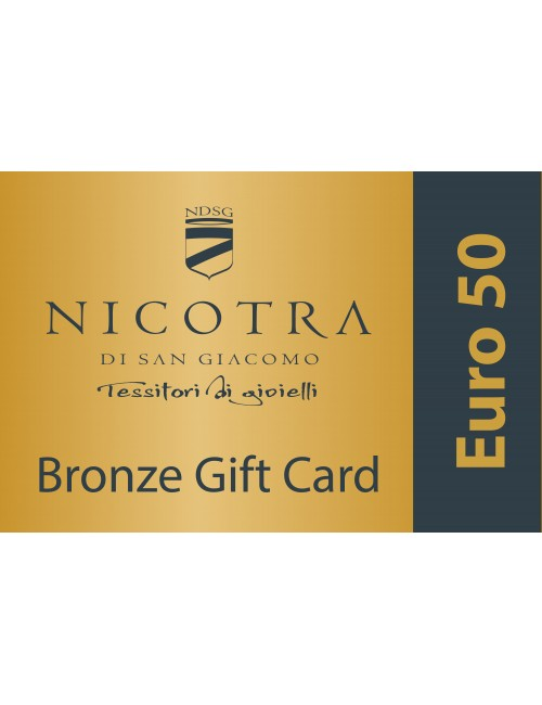 BRONZE GIFT CARD 50€