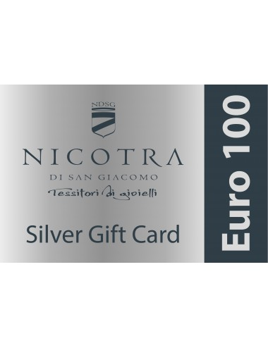 SILVER GIFT CARD 100€