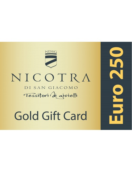GOLD GIFT CARD 250€