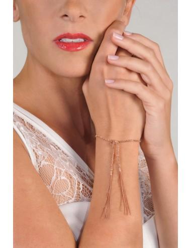 MILLESIMATO Bracelet in Sterling Silver 14Kt. Rose gold plated