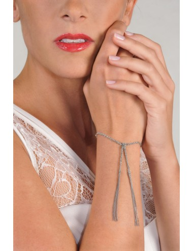 MILLESIMATO Bracelet in Sterling Silver Rhodium plated