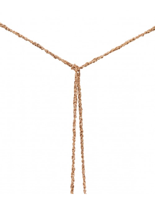 MILLESIMATO Necklaces in Sterling Silver 14Kt. Rose gold plated
