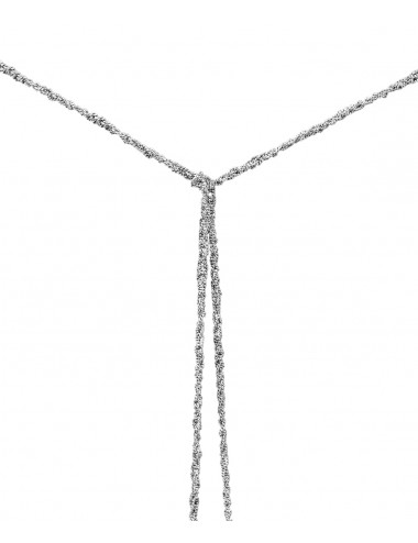 MILLESIMATO Necklaces in Sterling Silver Rhodium plated