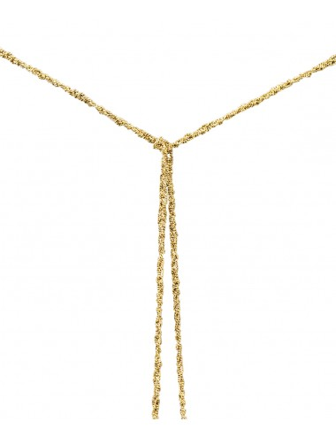 MILLESIMATO Necklaces in Sterling Silver 18Kt. YELLOW gold plated