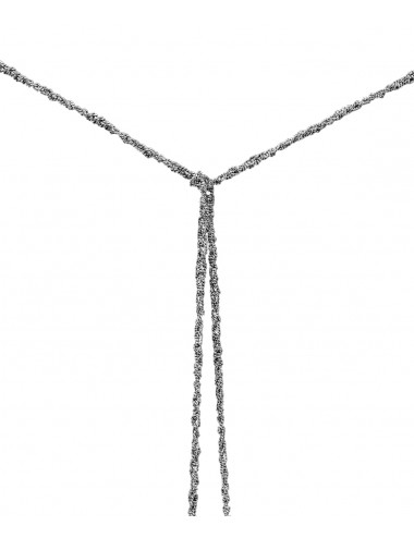 MILLESIMATO Necklaces in Sterling Silver Ruthenium plated
