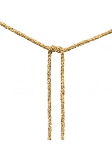 Collana MILLESIMATO DOC in Argento 925 bagno oro Giallo 18Kt.