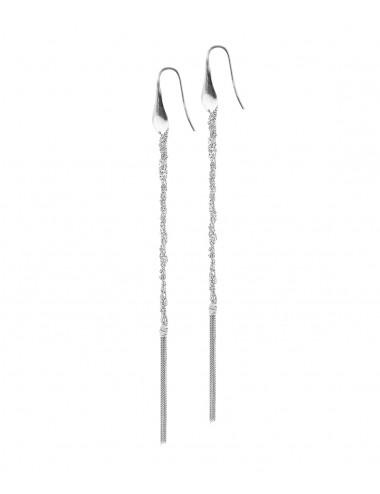 PERLAGE Earrings in Sterling Silver Rhodium plated.