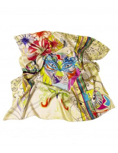 Multicolored Chaos 90x90cm