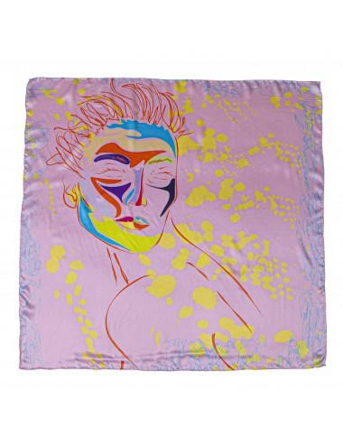 Venere in Rosa 90x90cm